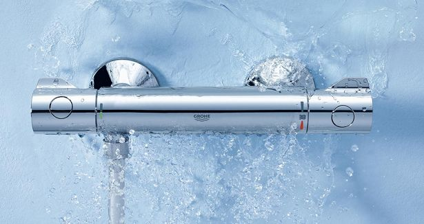 grohe thermostaatkraan bad] - 100 images - grohtherm 3000 ...