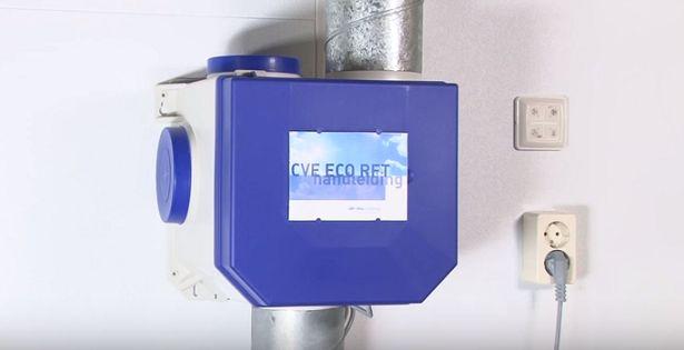 Itho Daalderop ventilatiesysteem