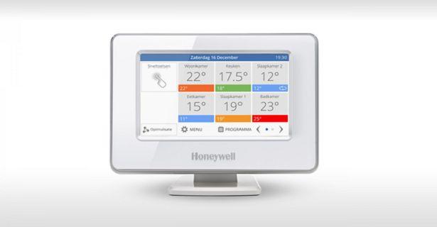 Honeywell temperatuur regelen