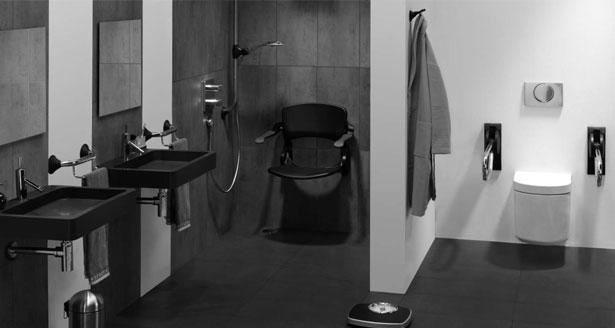 Badkamer Antraciet
