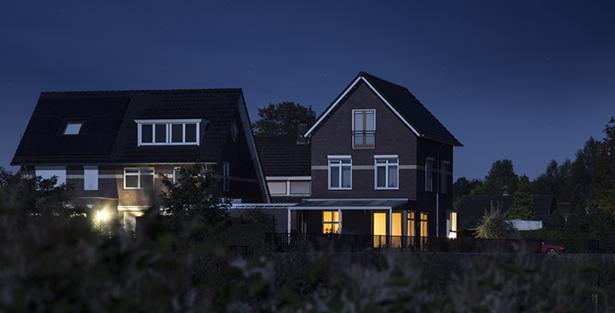 Huis donker