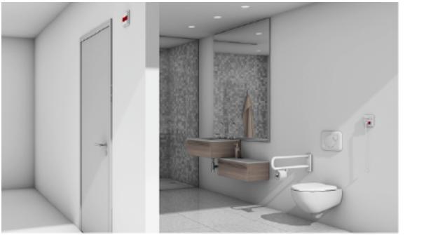 Oproepsysteem toilet